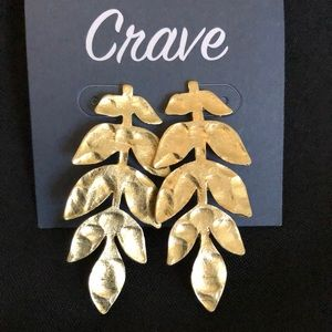 Crave lead earrings
